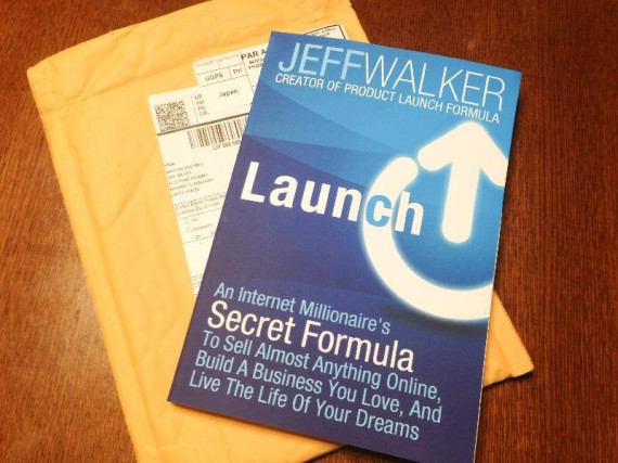 ジェフ・ウォーカー(Jeff Walker)『Launch: An Internet Millionaire's Secret Formula To Sell Almost Anything Online, Build A Business You Love, And Live The Life Of Your Dreams』書評