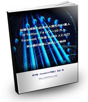【マル秘レポート】65ページ『知識も経験もお金も人脈もない素人がTwitterフォロワー20万人、Facebookで友達5,000人になり実店舗の集客に成功した秘訣』