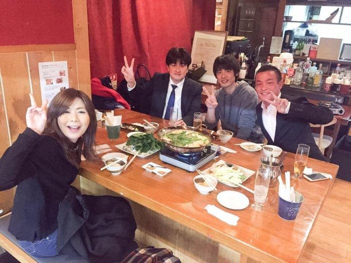 前職時代の仲間と堺筋本町のBAKU BALで忘年会