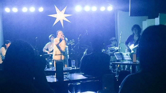 Singer YUKAさんのライブを観に