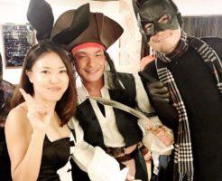 東京のハロウィンパーティーはジャック・スパロウのコスで、、、